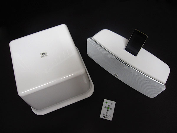 Geeking Out Right Now, or, the iPod/iPhone Mini Home Theater 4