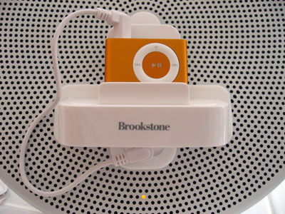 Review: Brookstone SongPlay (OnStage) Music System for iPod