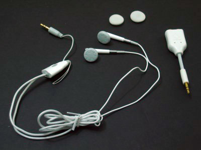 Capdase Necklace Earphone & Splitter Set for iPod Series