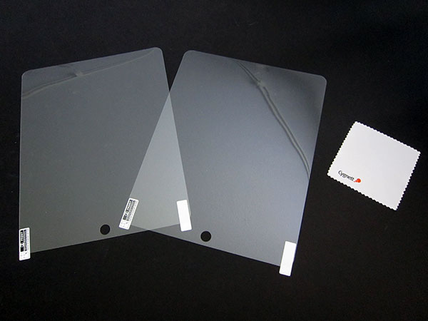 First Look: Cygnett OpticClear Screen Protectors for iPad + iPhone 4