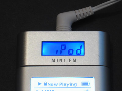 Review: DLO mini fm FM Radio and Headphone Amplifier for iPod mini