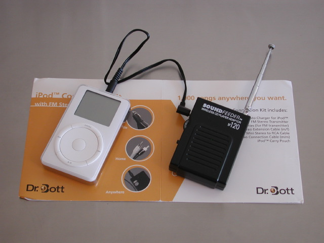 Review: Dr. Bott iPod Connection Kit w/ FM Transmitter