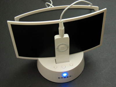 Review: Dynex Personal Speaker System for iPod shuffle