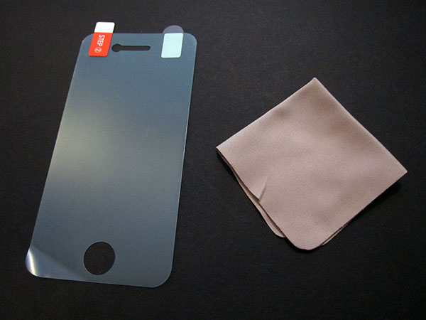 First Look: Elago Design HD Professional Film for iPhone 4