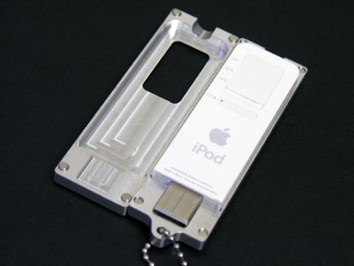Review: eXopod Aluminum Magnetic Case for iPod shuffle