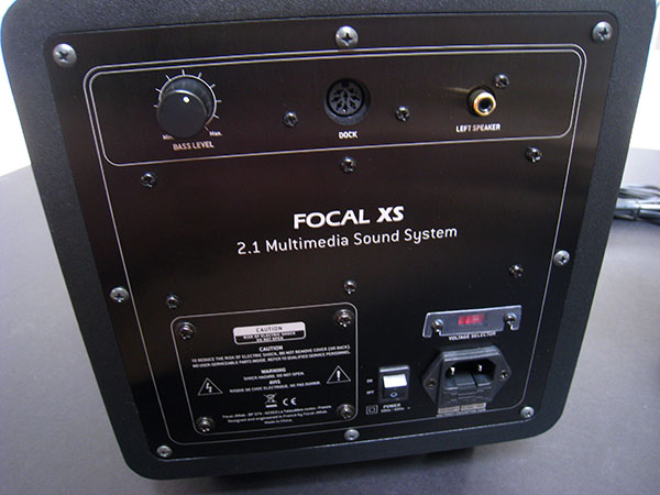 Review: Focal JMlab Focal XS 2.1-Channel Multimedia + iPod System
