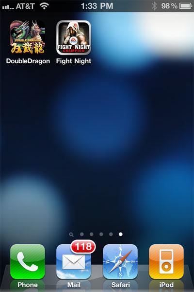 iPhone Gems: DoubleDragon + Fight Night Champion 1