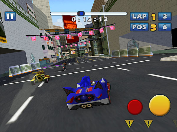 iPhone + iPad Gems: Deathsmiles, Ducati Challenge HD, Sonic & Sega Racing + Street Fighter IV Volt