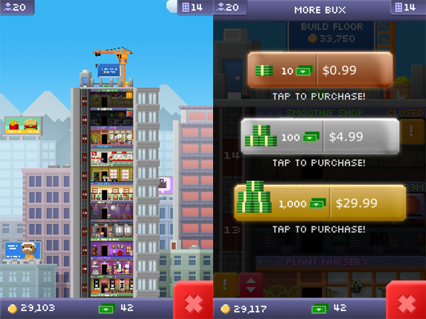 iPhone + iPad Gems: Hanging With Friends, Tiny Tower, Feed Me Oil + Paper Munchers