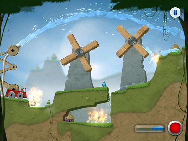 iPhone + iPad Gems: Edge Extended, Peggle HD + Sprinkle: Water Splashing Fire Fighting Fun!