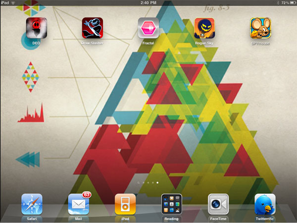 iPhone + iPad Gems: Deo, Draw Slasher: The Quest, Fractal, Rogue Sky + Spy Mouse 1