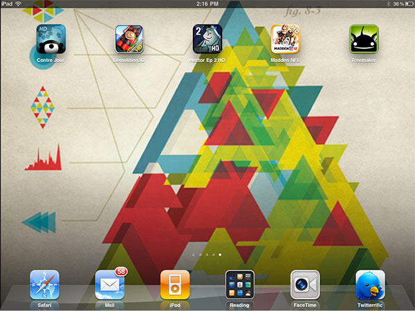 iPhone + iPad Gems: Contre Jour, Demolition Master 3D HD, Hector Ep2 HD, Madden NFL 12 + Treemaker 1