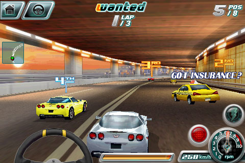 Review: Gameloft S.A. Asphalt 4 Elite Racing
