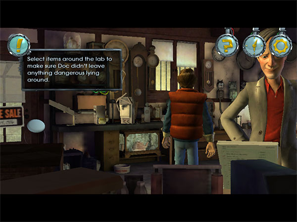 Review: Telltale Games Back to the Future Ep 1 HD 8
