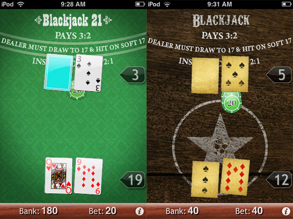iPhone Gems: Cards, Gambling + Arcade-Style Games