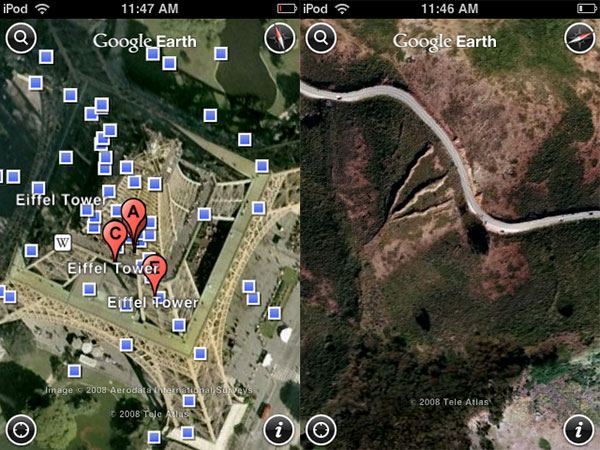 iPhone Gems: Google Earth, Spin, and Beer Bounce 7