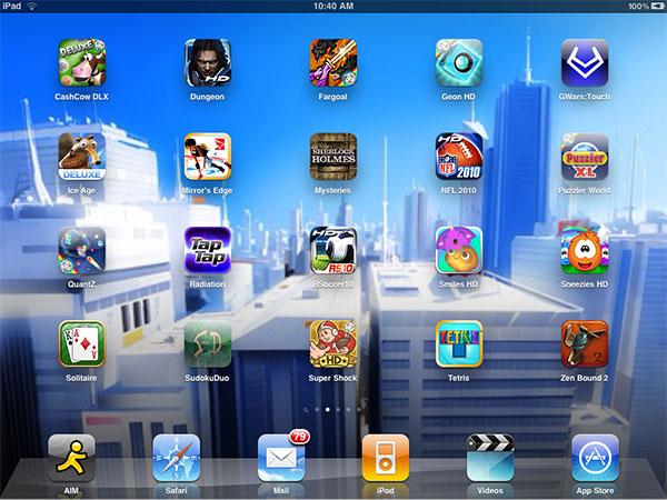 iPad Gems: 20 New Games - Geometry Wars, Mirror's Edge, Tetris, Tap Tap Radiation + Zen Bound 2 1