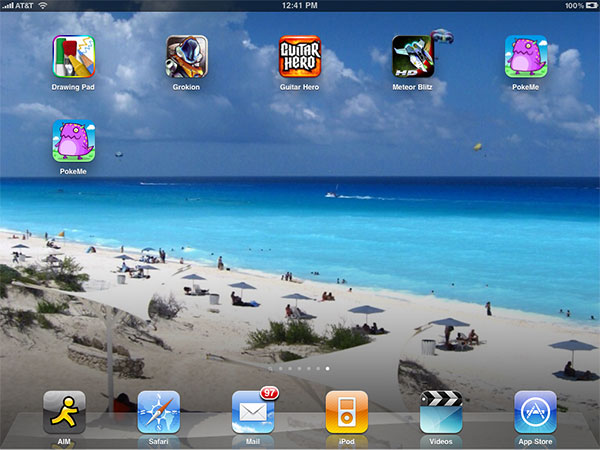 iPhone + iPad Gems: Drawing Pad, Poke Me!/Poke Me! HD, Grokion, Guitar Hero + Meteor Blitz HD 1