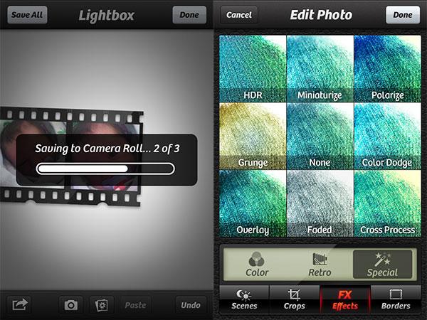 iPhone + iPad Photo Gems: Camera+, Camera Sutra, CinemaFX for Video + ShutterSnitch 4