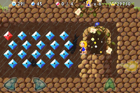 iPhone Gems Retro: Space Miner and Giana Sisters