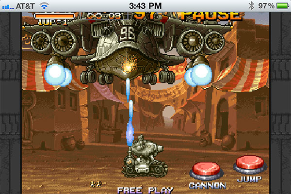iPhone Gems: The Beatles LOVE, Metal Slug Touch + Volcano Escape