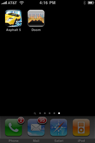 iPhone Gems: Asphalt 5 and Doom Classic 1