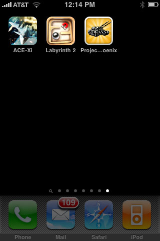 iPhone Gems: Ace Combat Xi, Labyrinth 2 + Project Phoenix 1