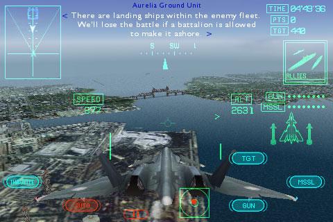 iPhone Gems: Ace Combat Xi, Labyrinth 2 + Project Phoenix 5