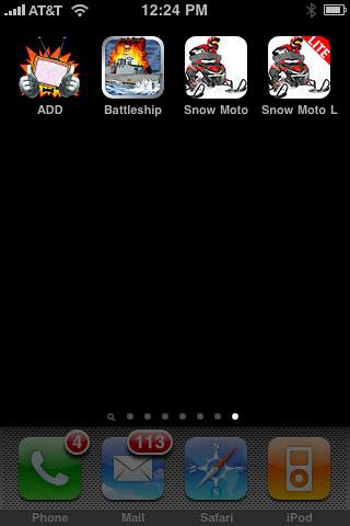 iPhone Gems: A.D.D, Battleship + Snow Moto Racing / Lite 1