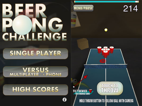 iPhone Gems: Beer Pong, Gemmed, Pachinko, Payback, Pinball Dreams + Time Crisis Strike 3