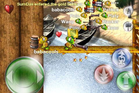 iPhone Gems: Shooters! Glendarius, iFighter, Rockchinko + DinoSmash Online