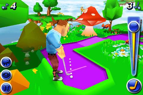 iPhone Gems: Mini Golf Wacky Worlds, Besieged + Spy Bot Chronicles 8
