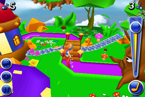iPhone Gems: Mini Golf Wacky Worlds, Besieged + Spy Bot Chronicles 9