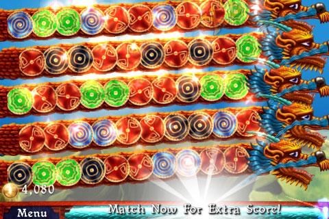 iPhone Gems: Bust-A-Move, Dragon Portals + Luxor – Match-Three Games