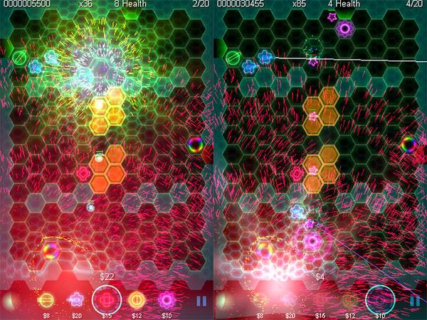 iPhone Gems: Geo-Defense Swarm, Lumines, Backbreaker Football + Eric Snider's Solitaire: Klondike