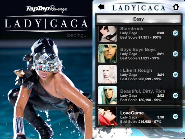 Review: Tapulous Lady Gaga Revenge 1