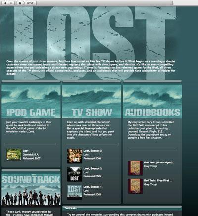 Lost's iPod/iTunes Quinfecta: Game, TV Show, Podcasts, Audiobook & Soundtrack 1