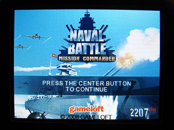Review: Gameloft S.A. Naval Battle: Mission Commander 1