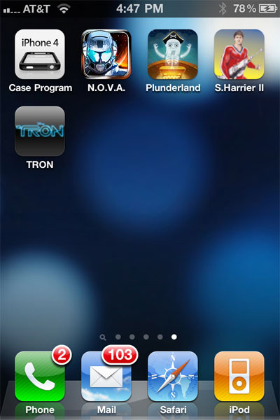 Small Apps + Updates: iPhone 4 Case Program, N.O.V.A., Plunderland, Space Harrier II + Tron 1