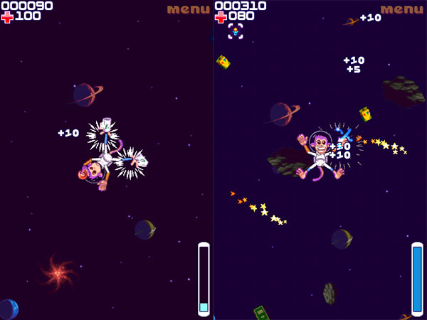 Review: Space Monkey by Glu Games