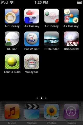 iPhone Gems: Sports Games - Soccer, Golf, Air Hockey, Tennis + More 1