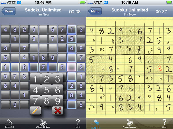 Review: Phase2Media Sudoku Classic + Sudoku Unlimited