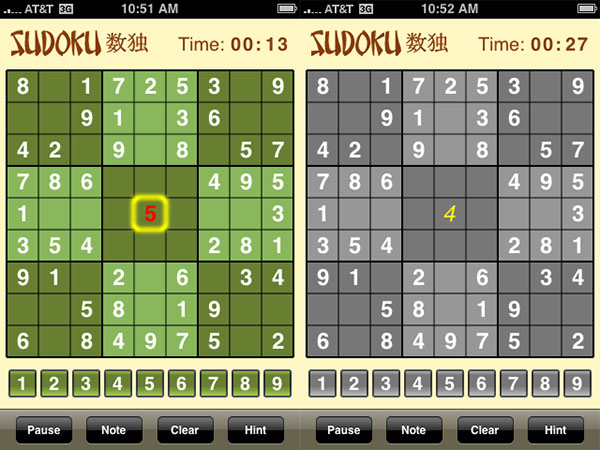 Review: Mighty Mighty Good Games Sudoku and Sudoku (Free)