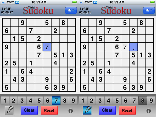 Review: Trivial Technology Trivial Sudoku
