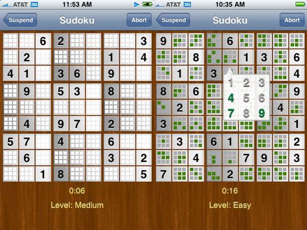 Review: Houdah Software ACTSudoku