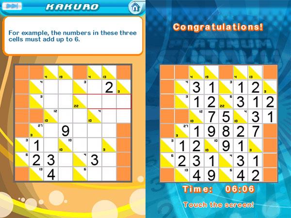 Review: Gameloft Platinum Sudoku