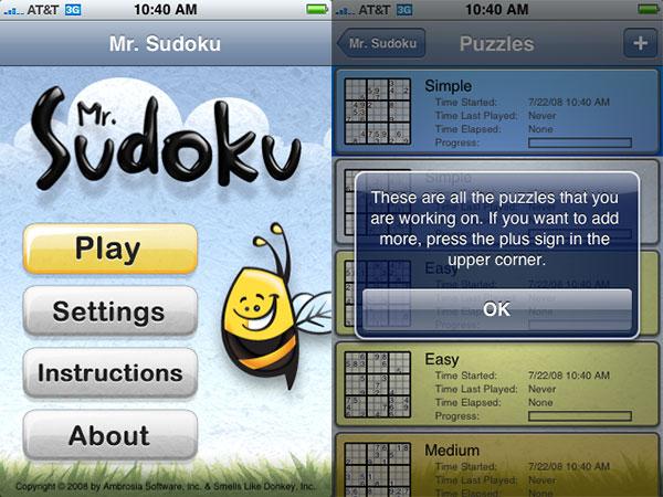 Review: Ambrosia Software Mr. Sudoku