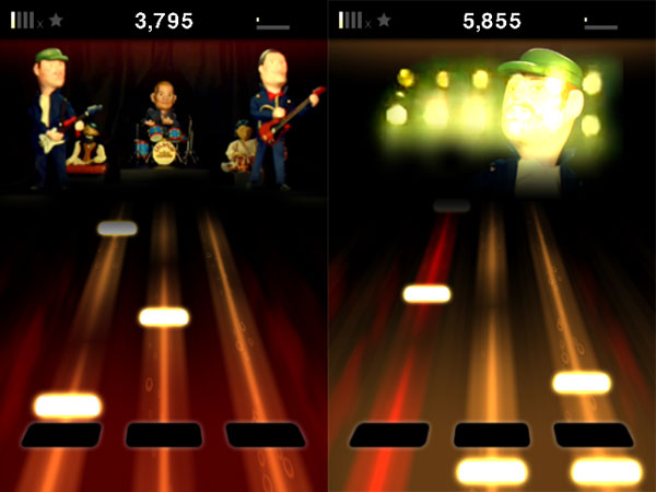 Review: Tapulous Tap Tap Coldplay