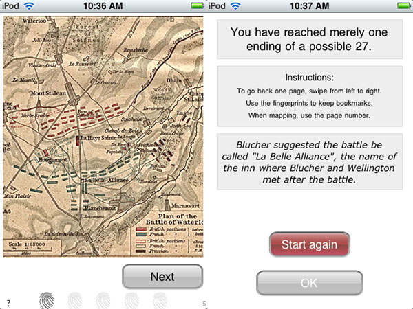 Review: Battle of Waterloo by TouchTome