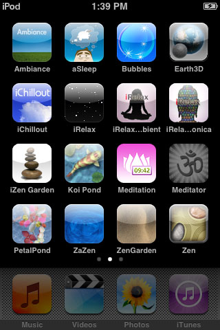 iPhone Gems: Sixteen Zen, Relaxation, and Meditation Apps 1